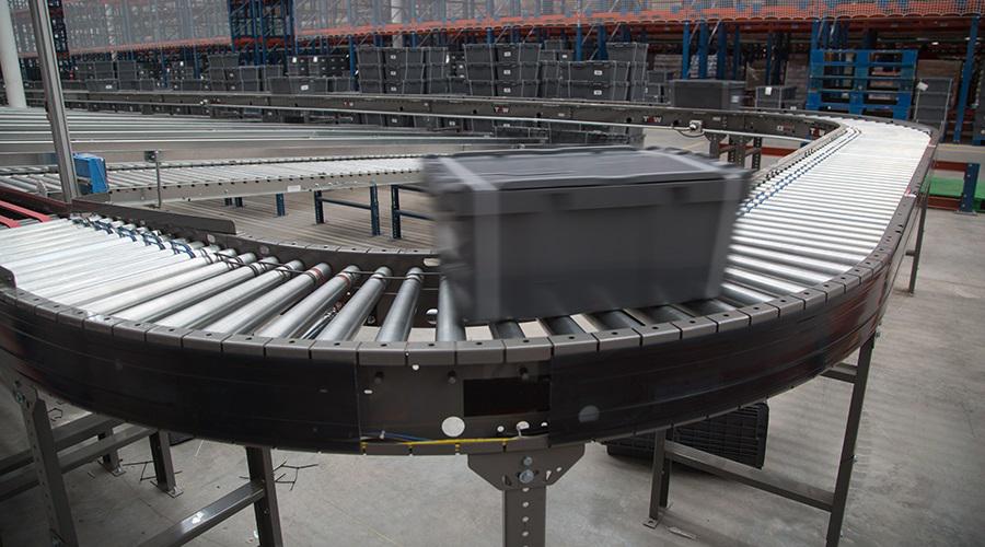 Sistema de Movimentação de Caixas e Pallets – Centro de Distribuição – Anel Rodoviário